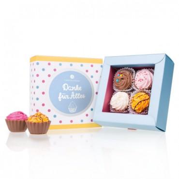 4 American Cupcakes - Danke