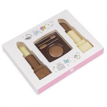 Make-up Set aus Schokolade