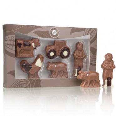 Farm aus Schokolade