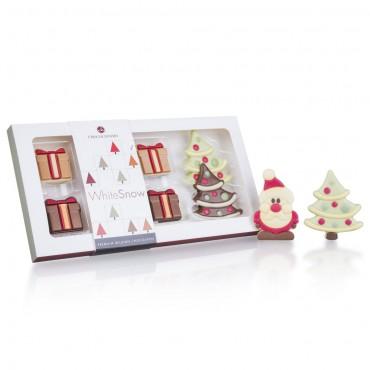 Xmas Crew Santas & Trees with Gift