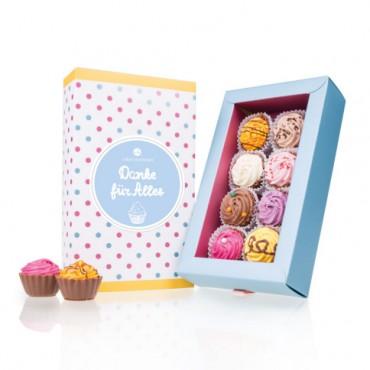 8 American Cupcakes - Danke