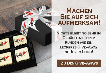 Giveaways mit Logo