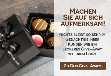 Give Aways mit Logo
