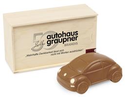 VW Beetle Holzverpackung mit UV-Druck